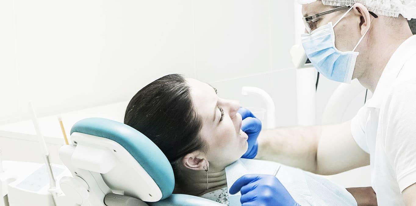 На лечении у дантиста