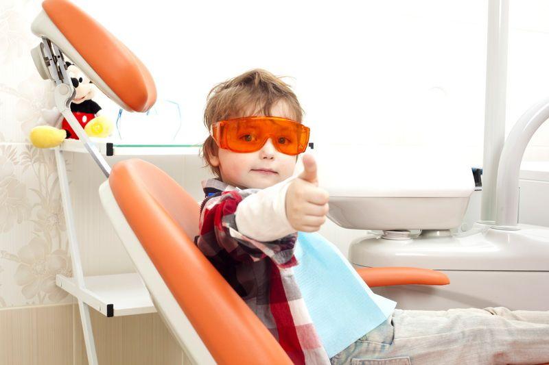к стоматологу с ребенком