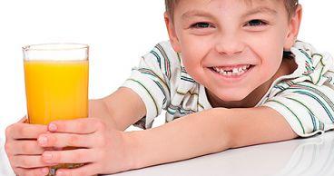 Влияние сока на зубы детей
